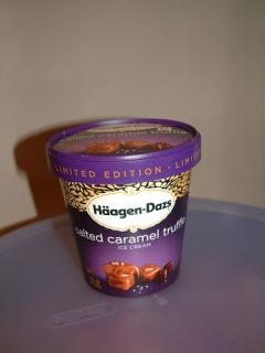 Häagen-Dazs® Salted Caramel Truffle Ice Cream
