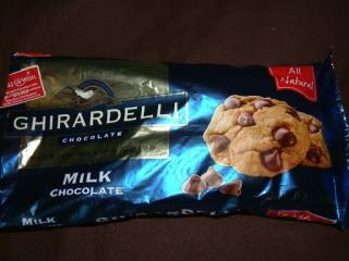 Ghiradelli Milk Chocolate Chips