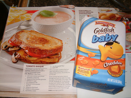 "Pepperidge Farm Goldfish ""Babies"" Baked Cheddar"